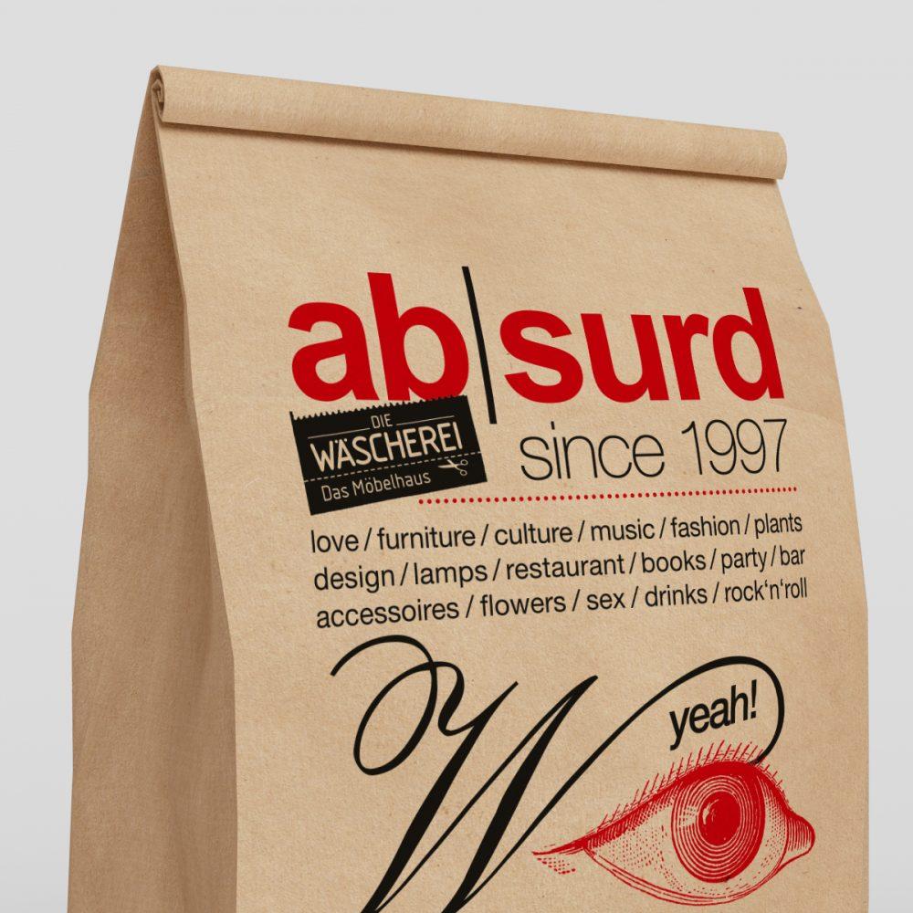 DIE WÄSCHEREI Shopping bags